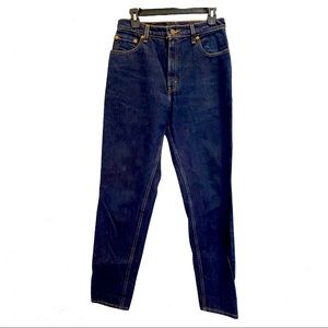 LEVI'S VINTAGE 550 Jeans 11 M Relaxed Fit Tapered